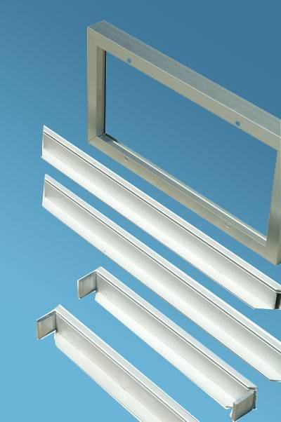 customized angle aluminum solar panel frame