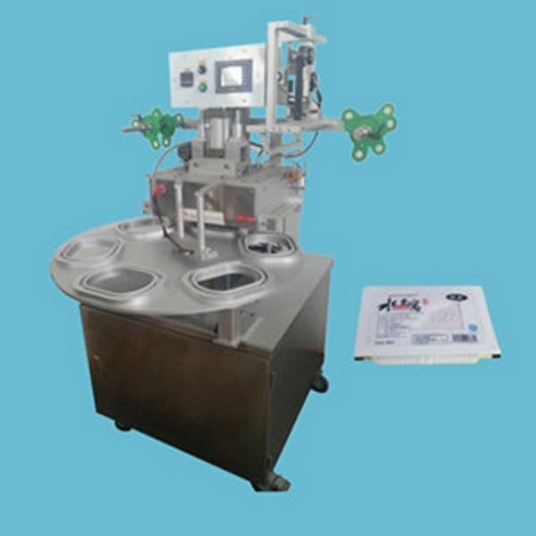FK1000 taiwan made plc control high output cups sealer machine