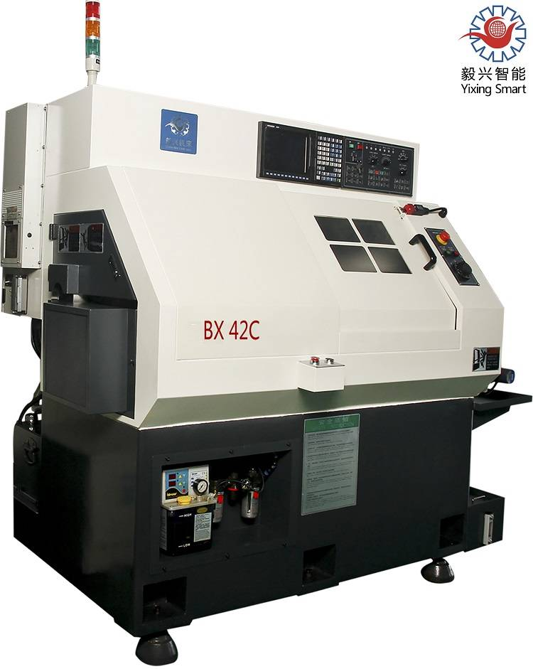 Hot sale! Chinese manufacturer Unversal Yixing BX42C Precision 4 aixs cnc lathe