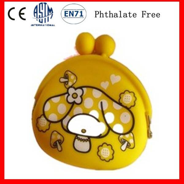 Customize Silicone Coin Purse