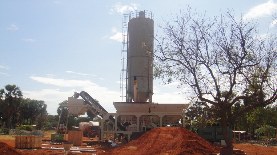 WBS series stabilized soil mixing plant