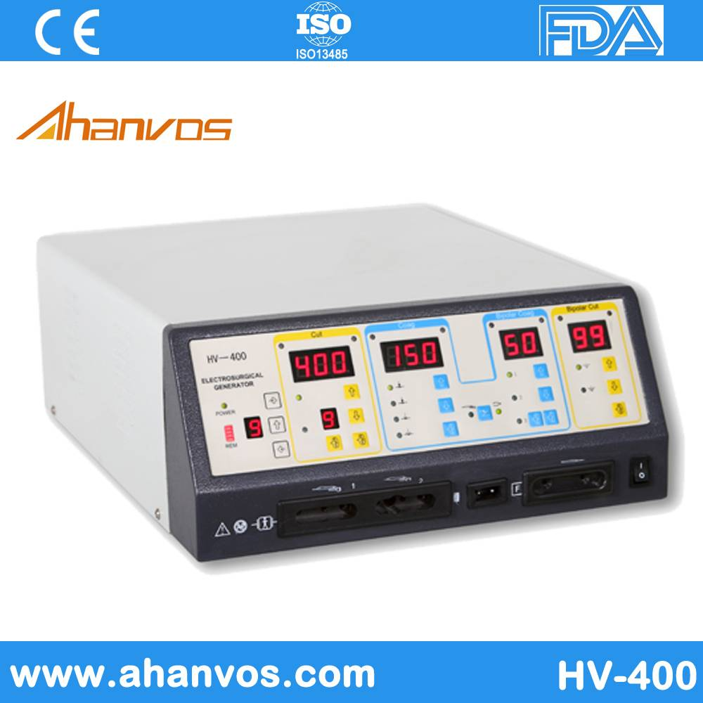 Portable Bipolar Electrosurgical HV-400 with High Quality and Popularity for Sale