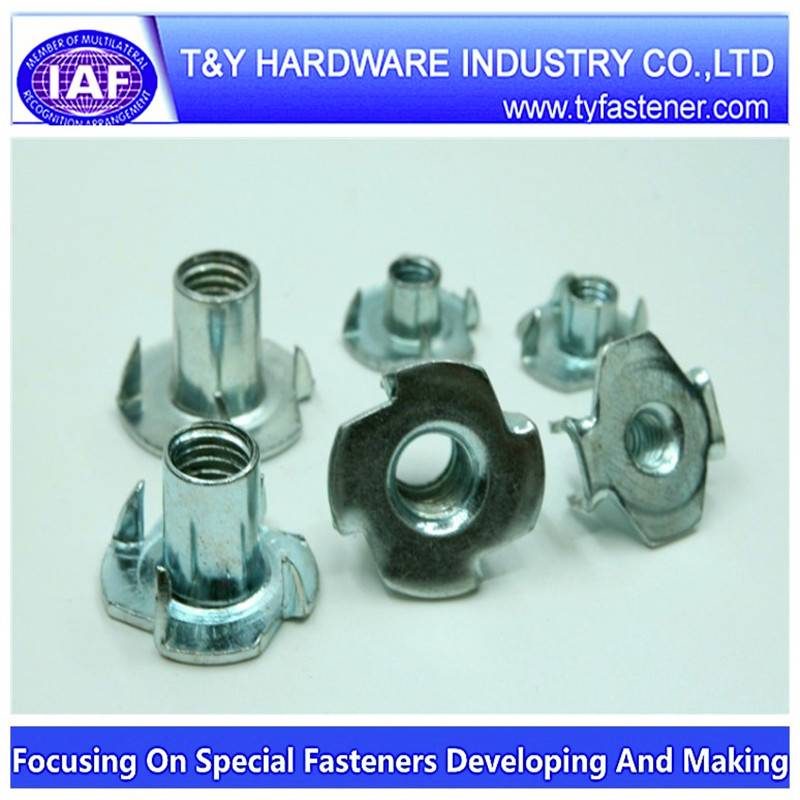stainless steel T nuts din1624