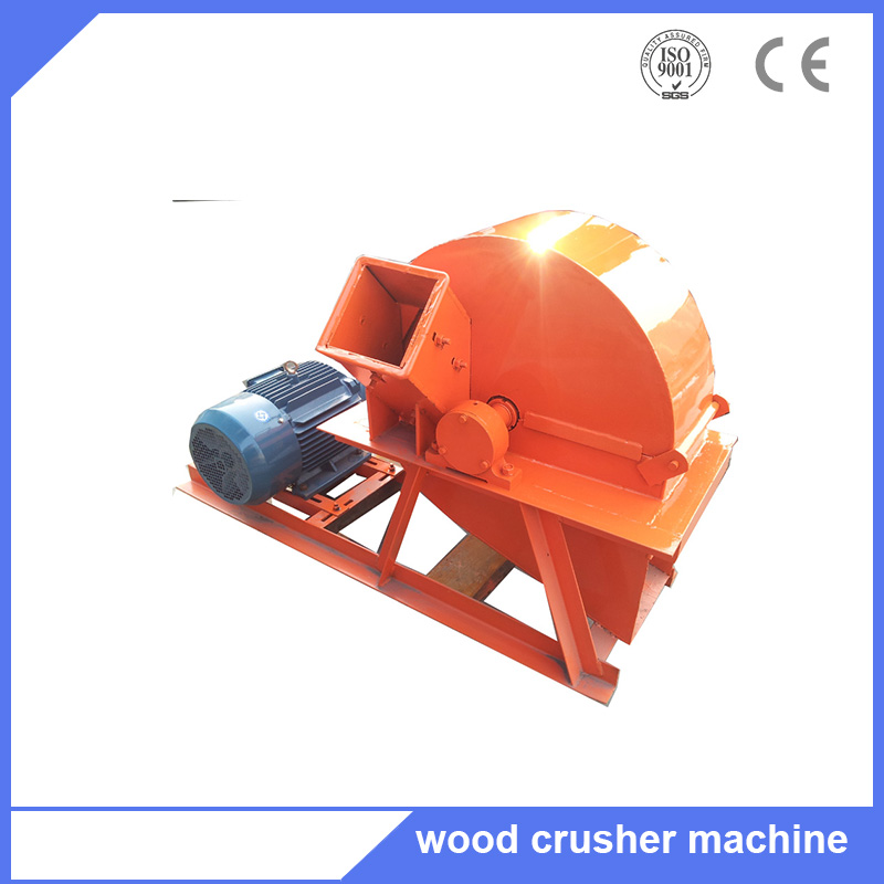 Tree branch wood logs bamboo 800 wood sawdust machine for fireboard factry