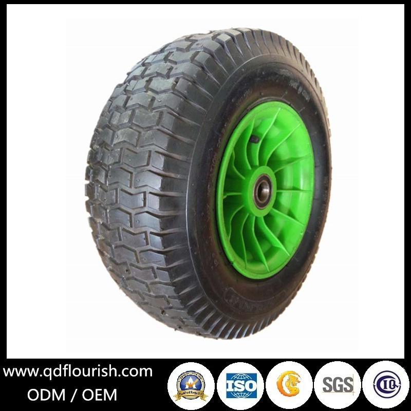 Agricultural Pneumatic Inflatable Rubber Wheel 5.00-6 for Trolley
