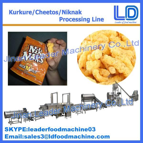 Industrial kurkure machine manufacturer jinan factory