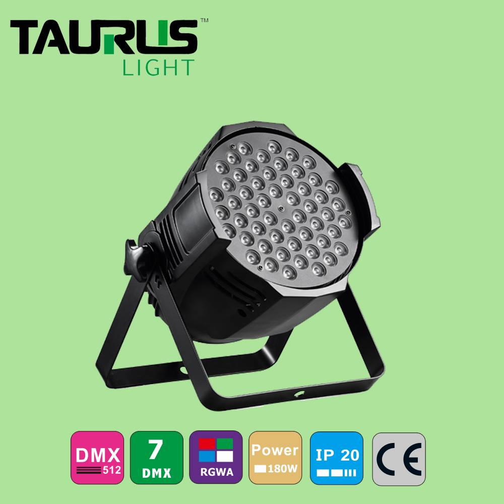 Stage Light LED 54*3 W Par Light RGBW Waterproof Par Light