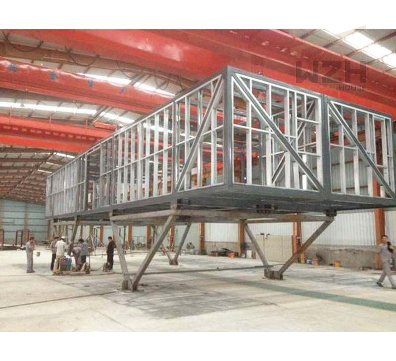 Prefab modular container building