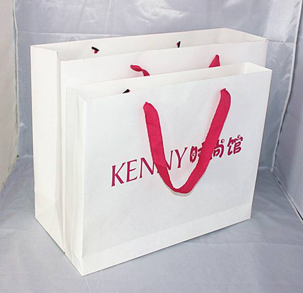 spring gift paper bag,shopping paper