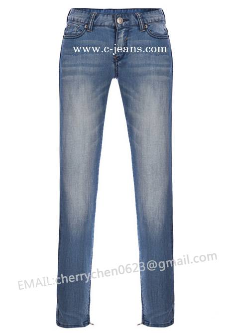 2014 New Arrival Lady's Fashion Denim Jeans (OEM Accepted)