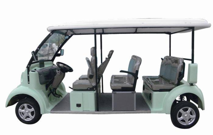 8 Sets Electric Sightseeing Car With Green Color