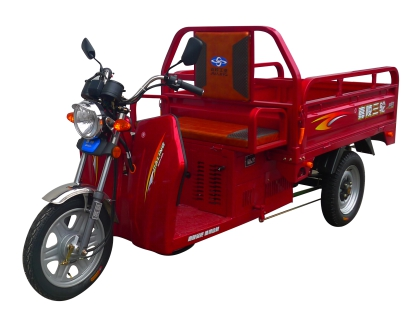 Oil-Electric hybrid tricycle