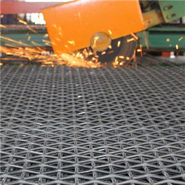 black crimped wire mesh used in mine ,quarry