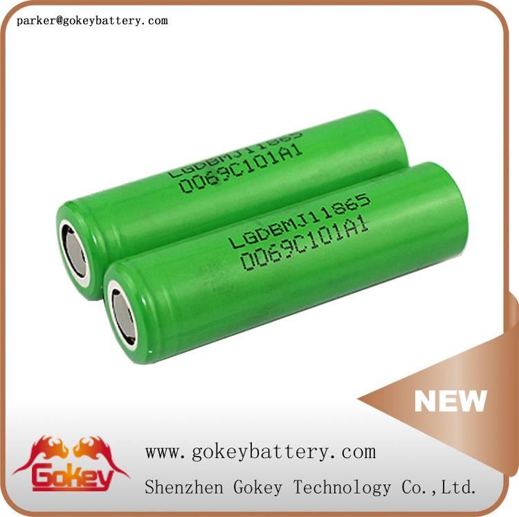 LG MJ1 3500MAH 10A LI-ION 18650 battery in battery depot
