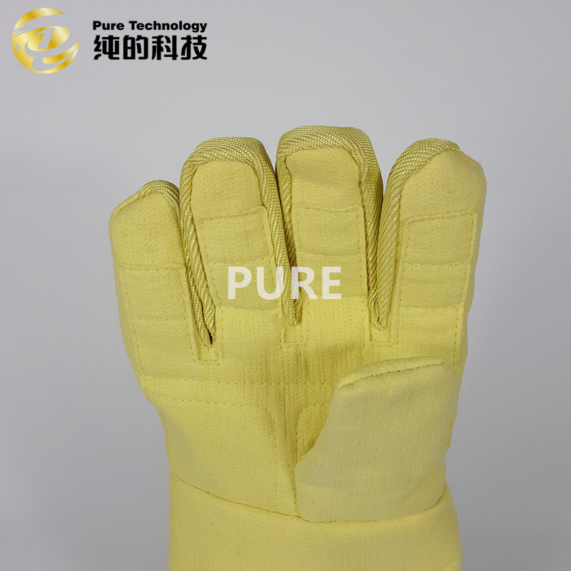 Best Hand protection safety gloves with para-aramid high temperature resistant