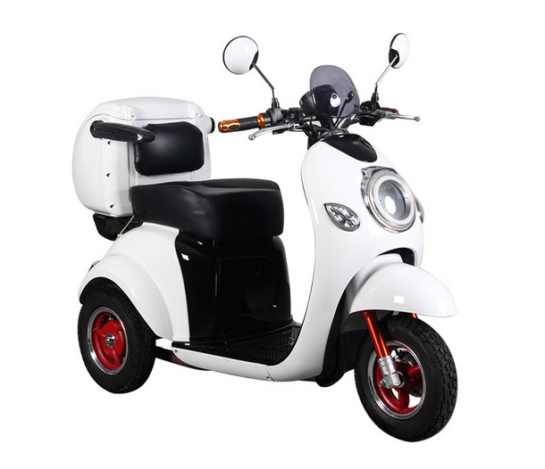 48V500W Electric Tricycle for Disabled, 3 Wheel Electric Scooter trike with reverse gearTC-023)