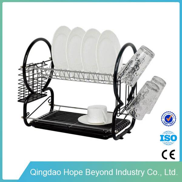 Household kitchen daily use dish rack