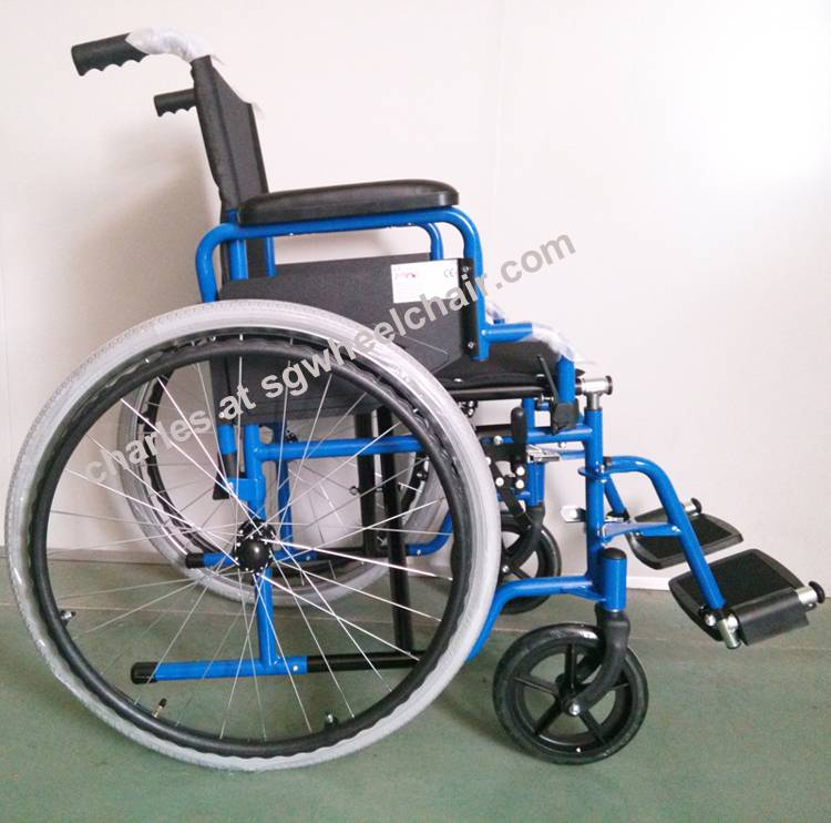 Lightweight Aluminum Wheelchair Approved By CE And FDA From China Manufacturer
