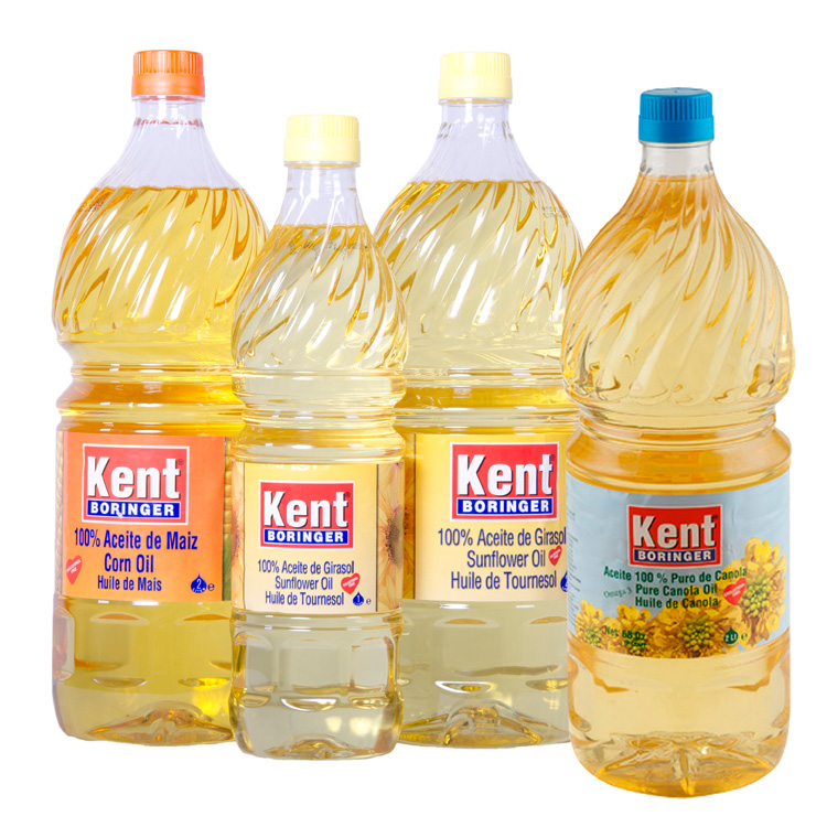 Refined Edible Cooking Oil Sunflower & Soyabean Oil, Corn oil