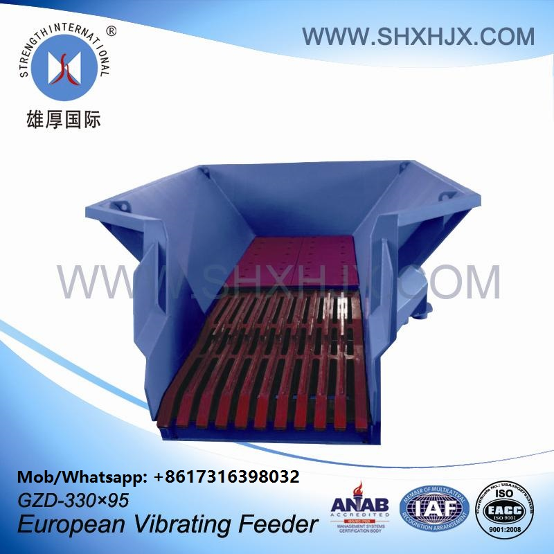 Convenient Assembly Mining European Vibrating Feeder For Chemical Industrial