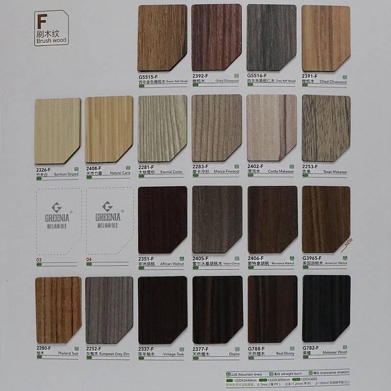 Formica veneer sheets/melamine laminates/formica pattern