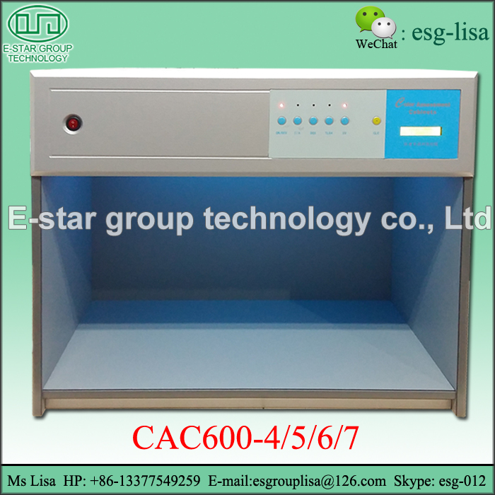 CAC600-4/5/6/7 Lab Color Matching Light Box