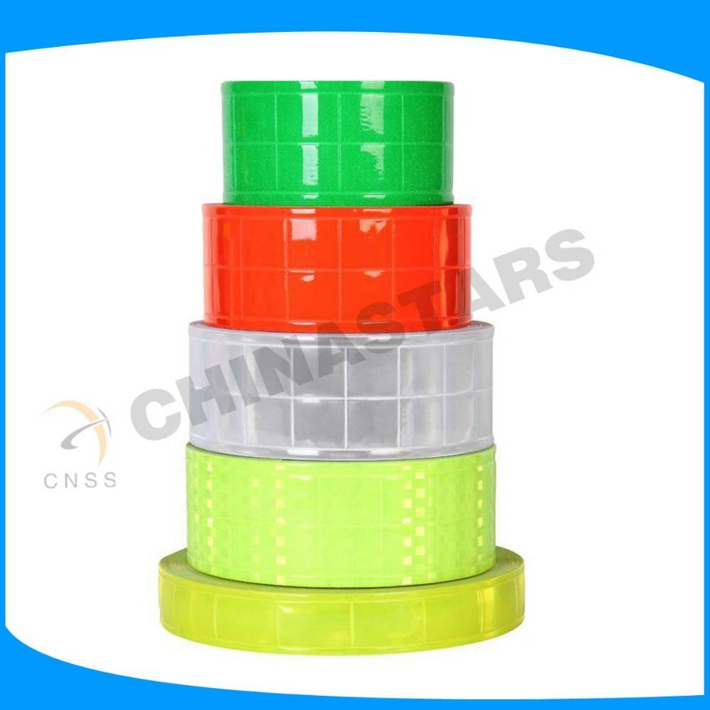 high visibility waterproof pvc reflective tape from China