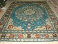 100% handmade silk carpet