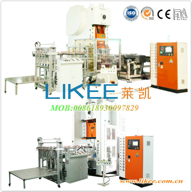 Disposable aluminum foil container making machine LK-T63/T80