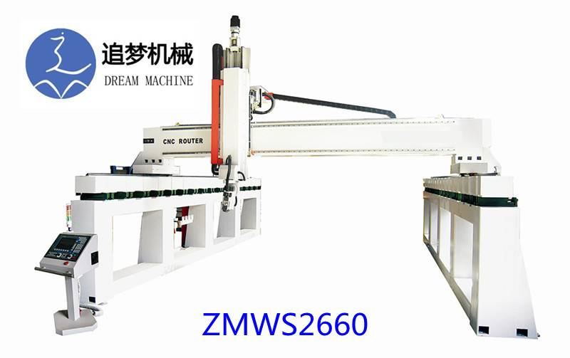 Five axis CNC processing center ZMWS2660