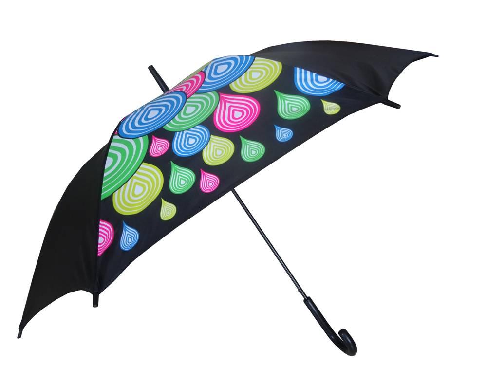 23 inches elegant customized neon print umbrella