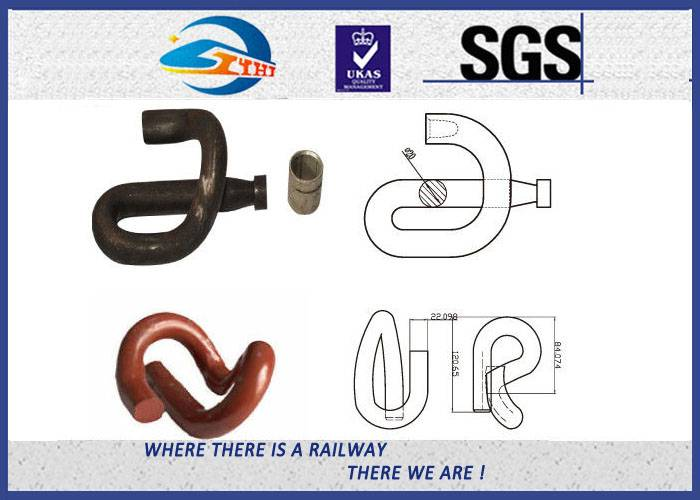 ZhongYue Gauge Lock Clamp Elastic Rail Clips 14mm 60Si2MnA Plain Surface in Track System
