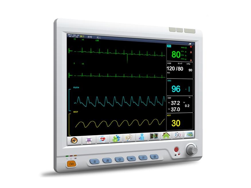 MeditechMD9015tMonitor De Parametros Multiples Con Certificados Ce E ISO