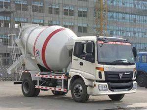 FORLAND RHD 4cbm concrete mixer truck