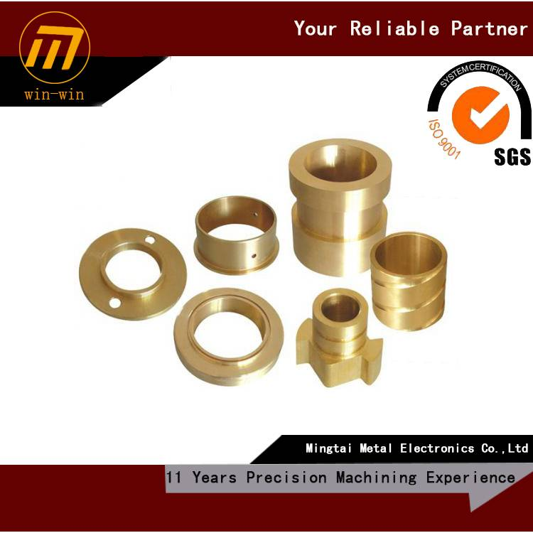 custom CNC machining steel bushing, drawing welcome