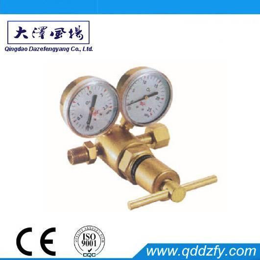 Gas pressure regulator cylinder regulator pipeline regulator