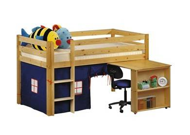 solid wood furniture for children bed