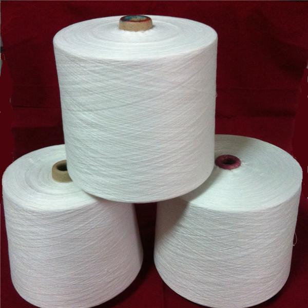 t/r double yarn,polyester/viscose yarn