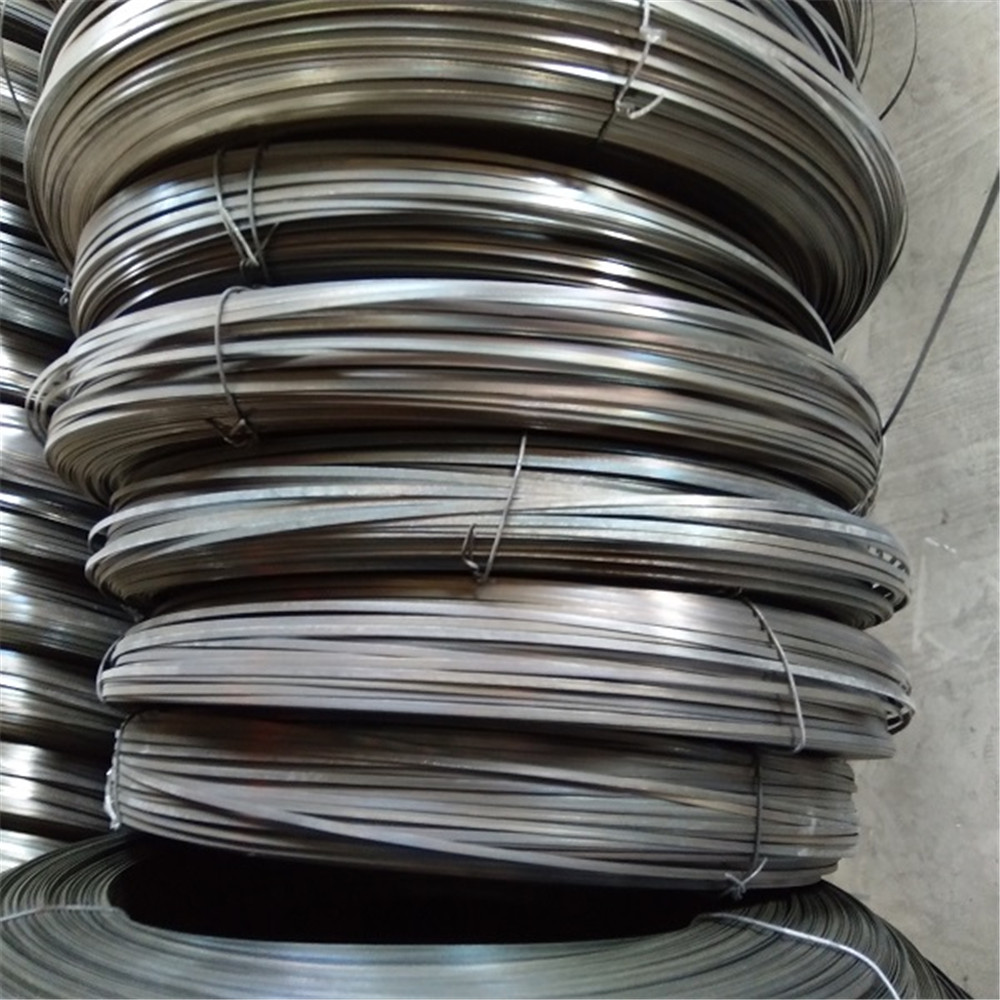 High Precision Flat Steel Wire /Galvanized Flat Wire