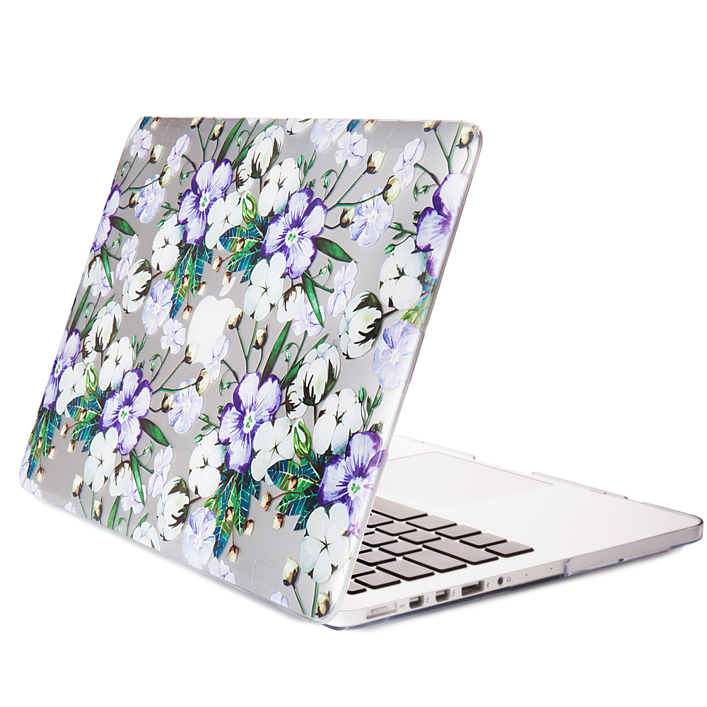 """Apple Macbook Air 11 """"13"""" 15 """"inch Pro Retina new Cae gold safflower rubber hard protective shell"""