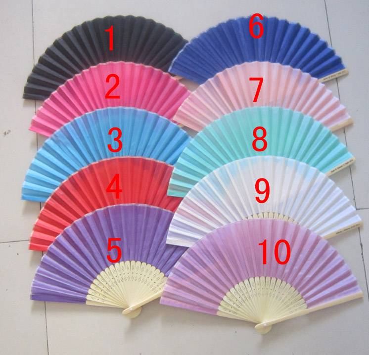 hot selling wedding fan in 2014