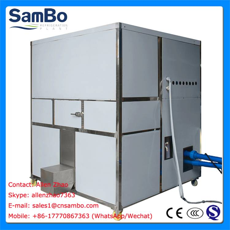 SamBo 3Tons Ice Cube Making Machine For Sale