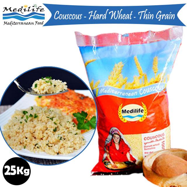 Couscous Thin Grain 25 kg