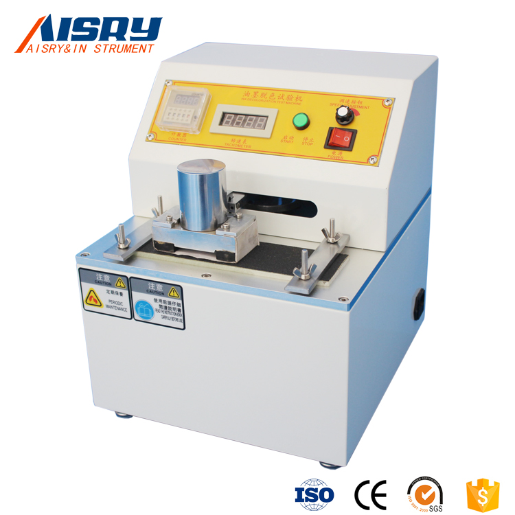 Ink and Printed Products Friction Decolorization Tester
