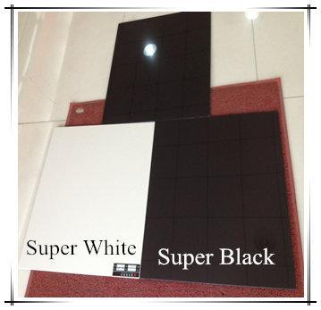600x600 800x800 Italian Bianco Super White Black Piastrelle Porcellana Polish Porcelain Floor Tile