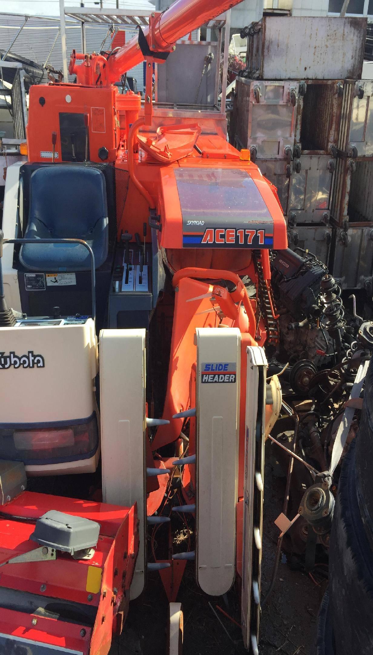 Used combine harvester Kubota R1-171
