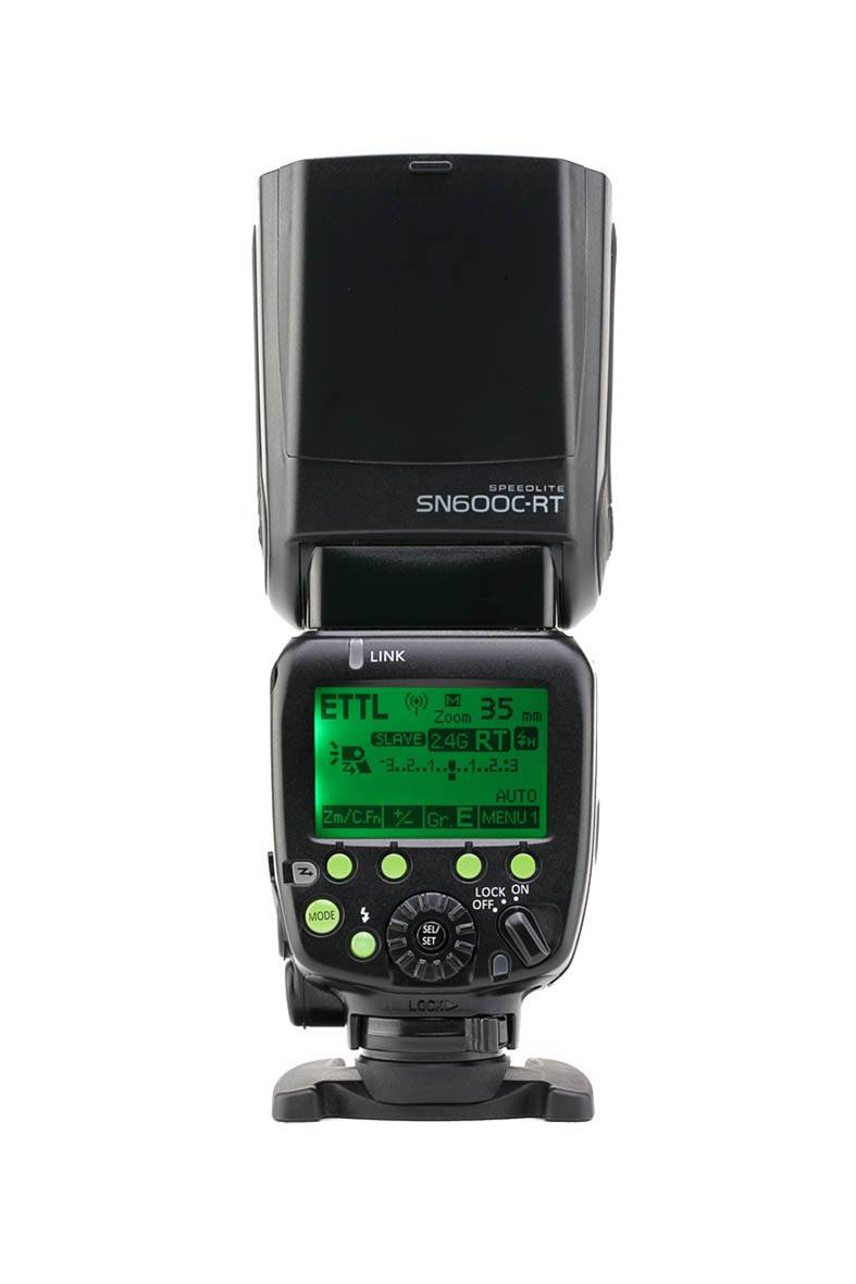 Shanny Sn600c-Rt Flash Buil-in 2.4G Wireless Radio Module, Slave 2.4 G Wirelss Radio Speedlite, Gn60