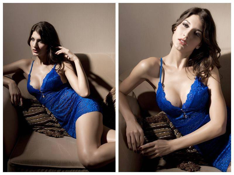 Blue Wizard Badydoll Lingerie