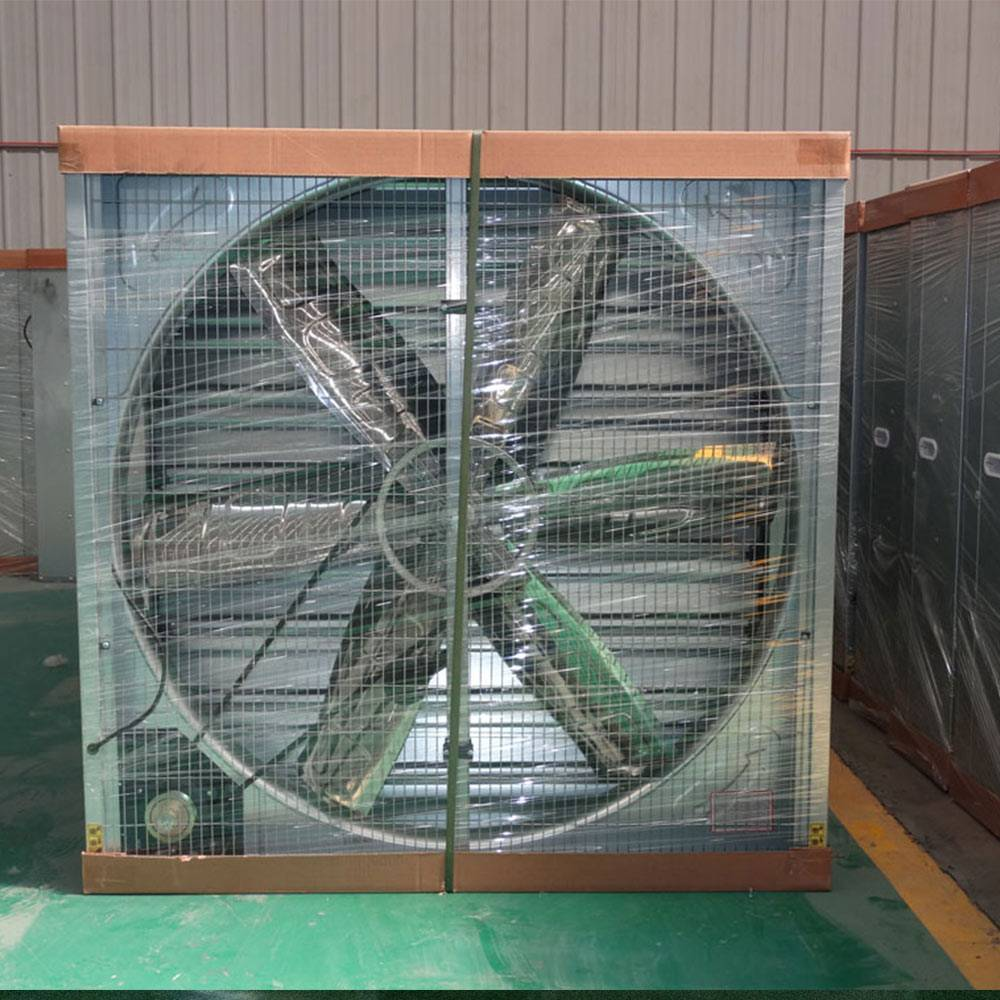 Heavy hammer air cooler ventilator exhaust fan for greenhouse and poultry