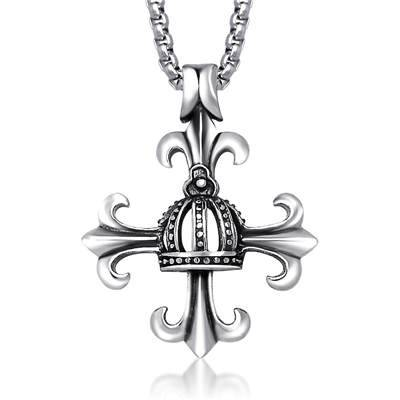 wholesale cross retro stainless steel jewelry pendant[OEM/ODM]